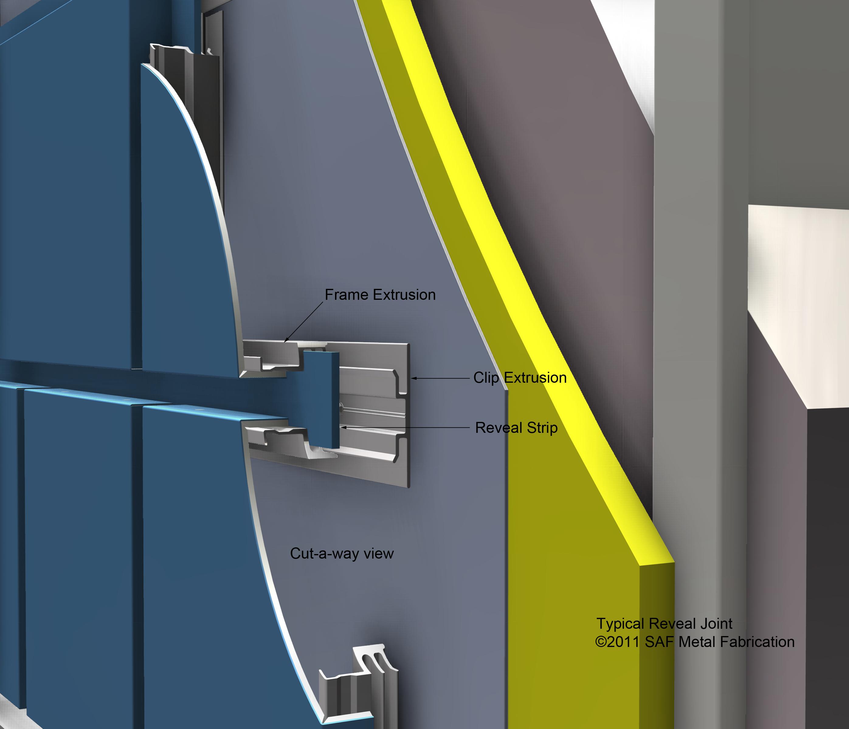 Series 4000 Rainscreen Panel System Saf Panels Saf