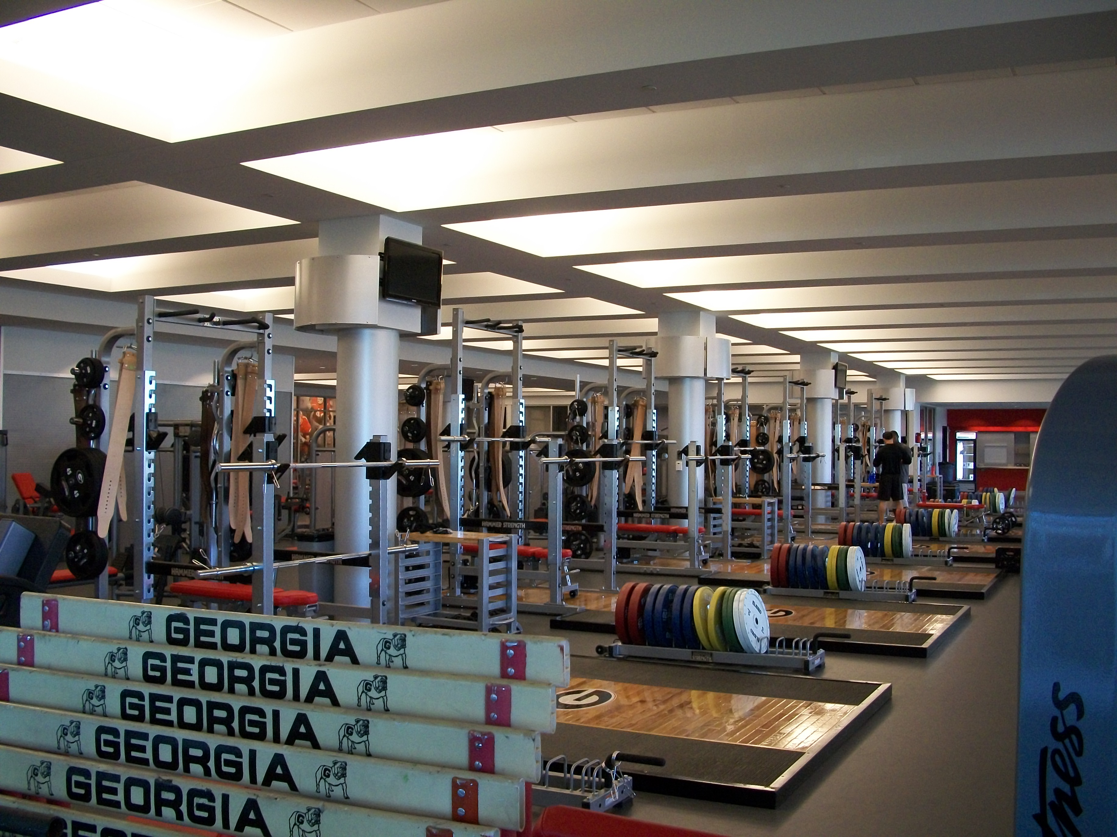 Uga Athletic Facilities Anodized Column Covers Saf