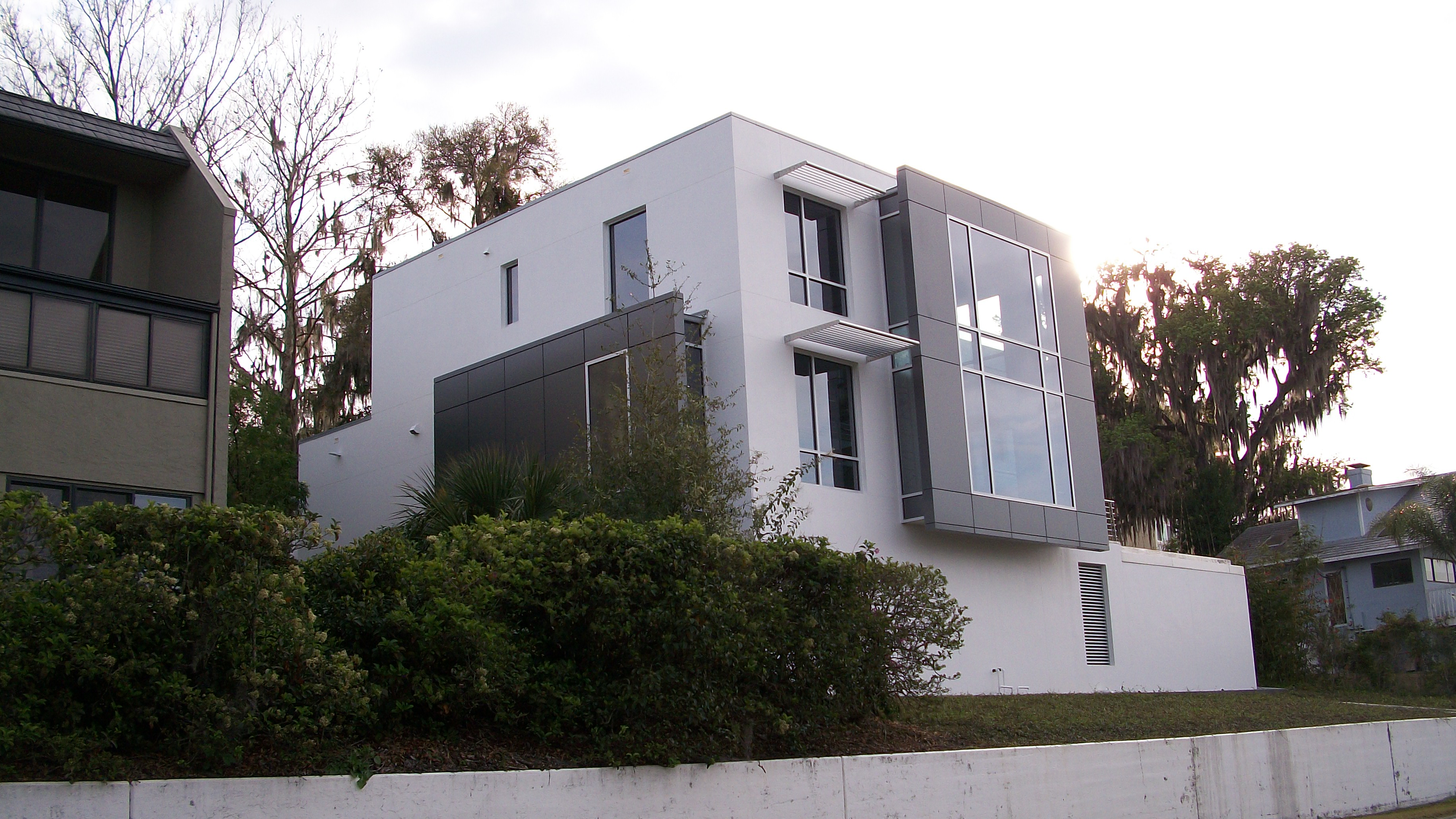 Residence With Acm Panels Saf Southern Aluminum