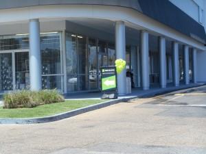 Winwood Shopping Center La Aluminum Column Covers Saf