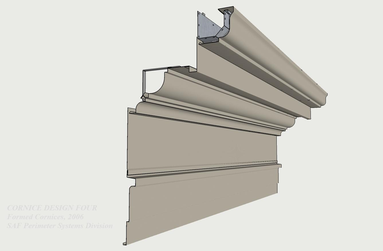 Formed Aluminum Cornices Saf Southern Aluminum