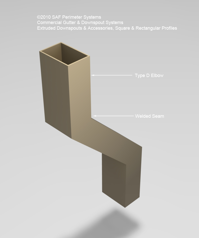 Commercial Downspouts Saf Southern Aluminum Finishing Co