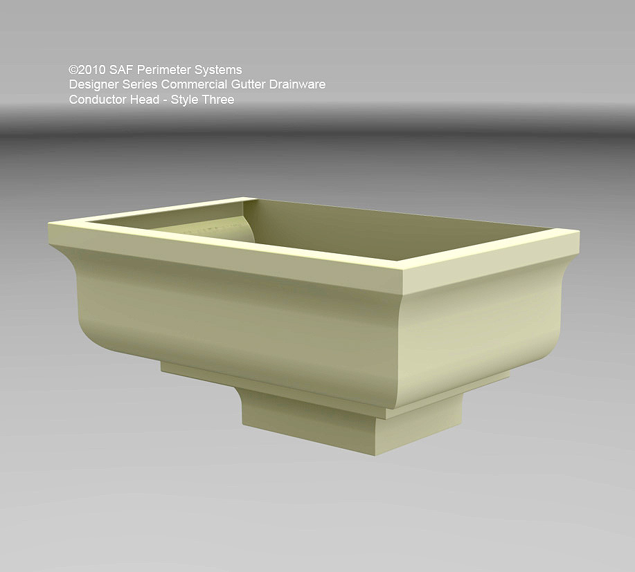 Scupper Box Conductor Head : Conductor heads saf southern aluminum finishing co inc