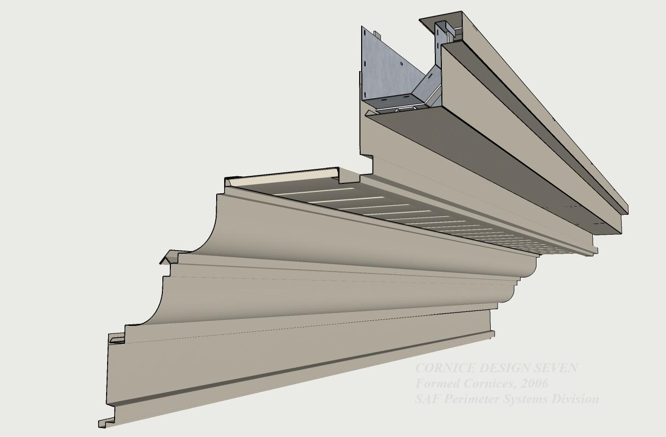 Formed Aluminum Cornices Saf Southern Aluminum Finishing Co Inc Saf Southern Aluminum Finishing Co Inc