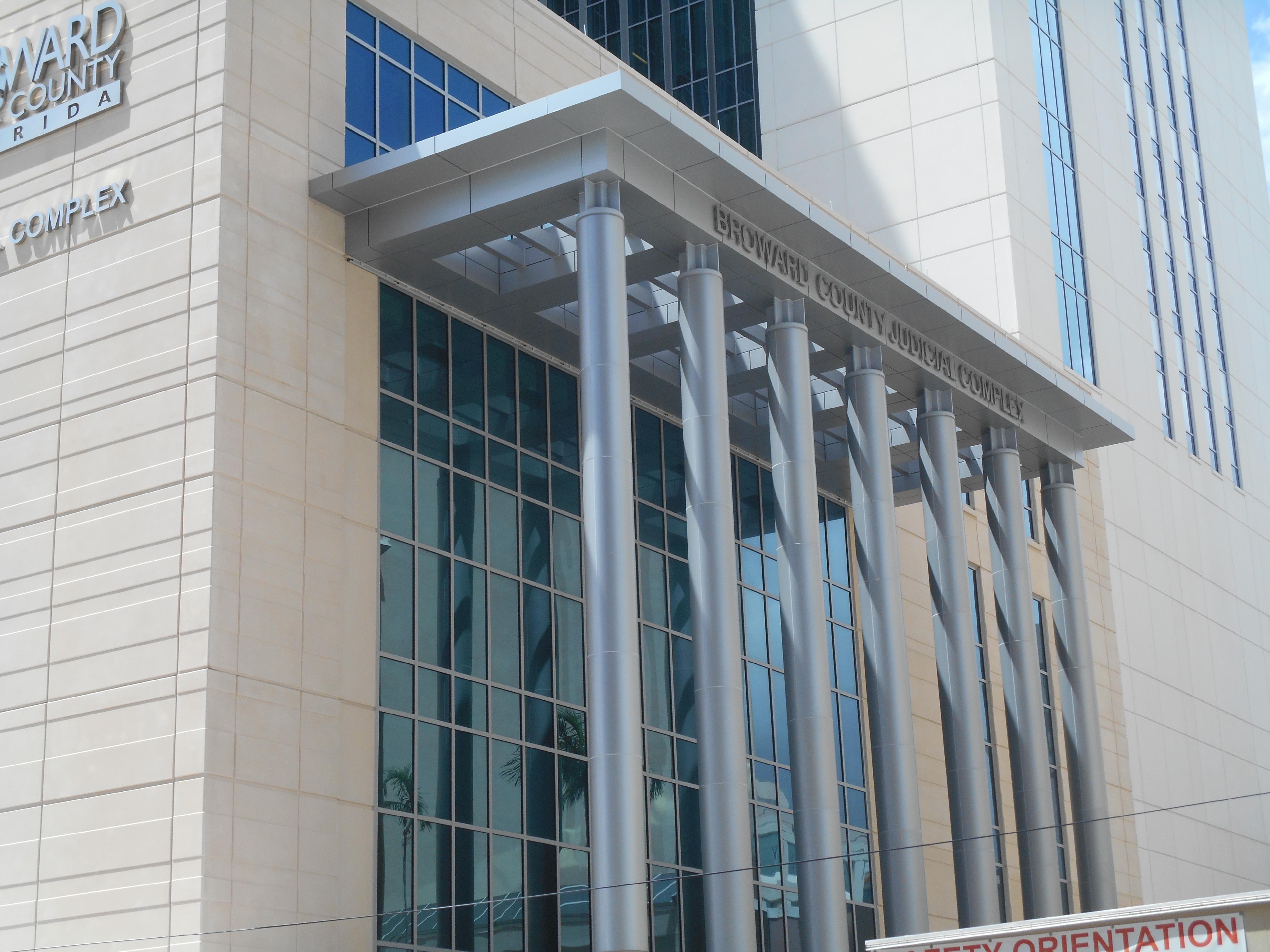 Aluminium Column Cladding : M aluminum column covers with duranar saf southern
